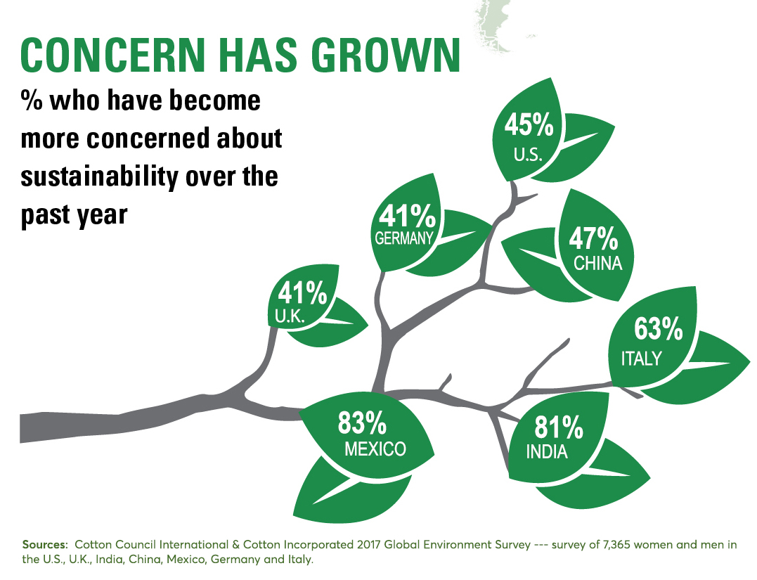Growing Concerns  2017 Global Environment Survey