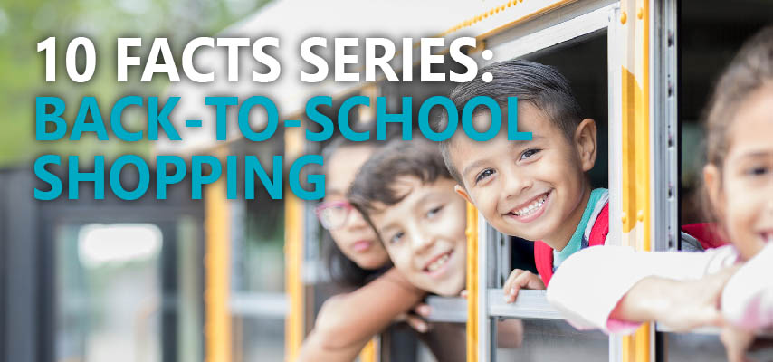 10 Facts About Back-to-School Shopping